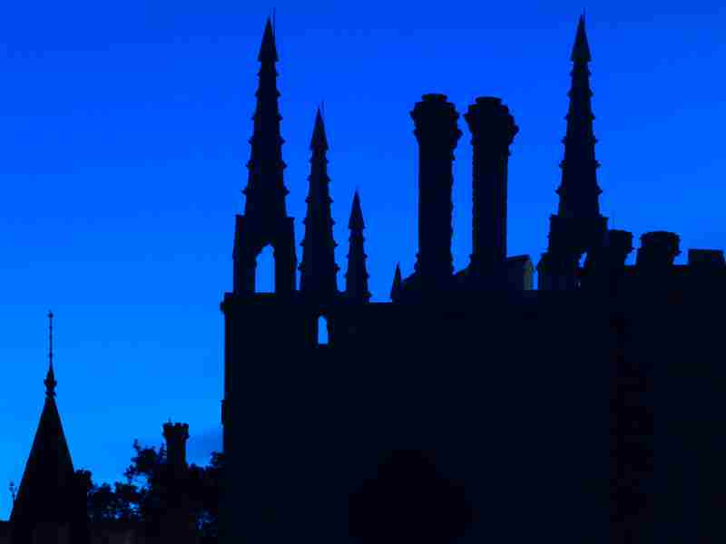 Twilight Guided Tours of Strawberry Hill House in Twickenham on 2 Dec