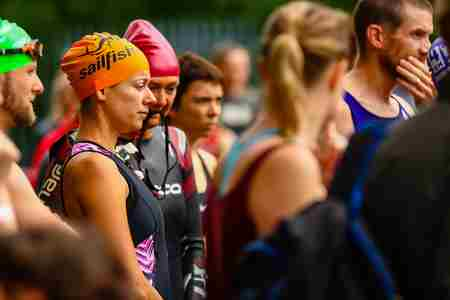 The Total Motion Aquathlon 2020 in London on 30 May