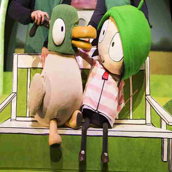 Sarah and Duck in Southend-on-Sea on 16 Apr