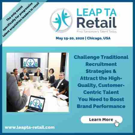 LEAP TA: Retail 2020 in Chicago on 19 May