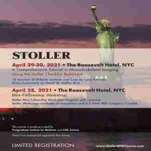 Stoller: A Comprehensive Tutorial in Musculoskeletal Imaging in New York on Wednesday, April 28, 2021