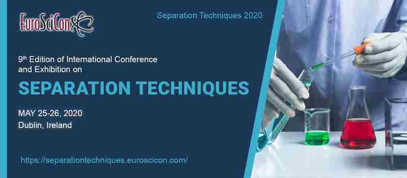 Separation Techniques 2020 in London on 25 May