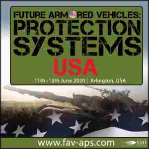 Future Armored Vehicles: Protection Systems USA in Arlington on 11 Jun