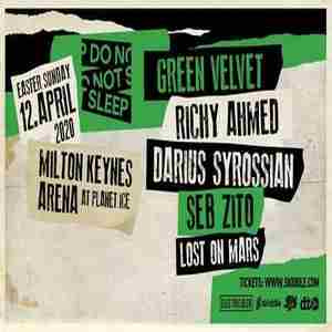 'Do Not Sleep' Easter Sunday Party at MK Arena in Milton Keynes on 12 Apr
