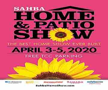 SAHBA Home and Patio Show in Tucson on 3 Apr