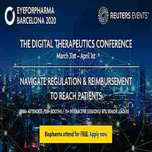 The Digital Therapeutics Conference Europe in Barcelona on 1 Apr