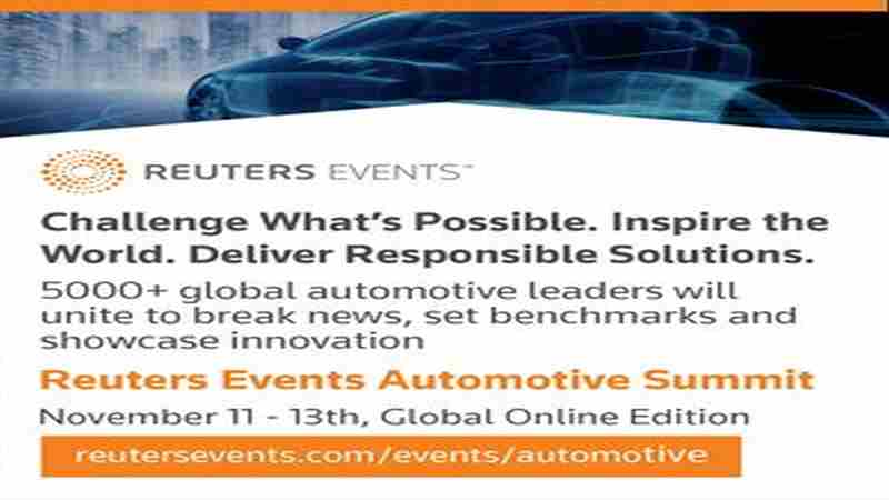Reuters Events Automotive Summit in New York on 11 Nov