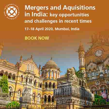 Mergers and Acquisitions in India: key opportunities and challenges in recent times in Mumbai on 17 Apr