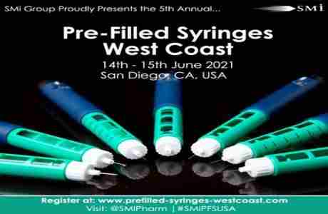 Pre-Filled Syringes West Coast 2021 in San Diego on 14 Jun
