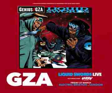 GZA - Liquid Swords at Electric Brixton, London in Brixton on 27 Mar