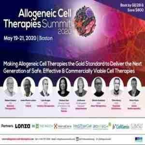 Allogeneic Cell Therapy Summit 2020 in Boston on 26 Oct
