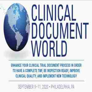 CLINICAL DOCUMENT WORLD in Philadelphia on 9 Sep