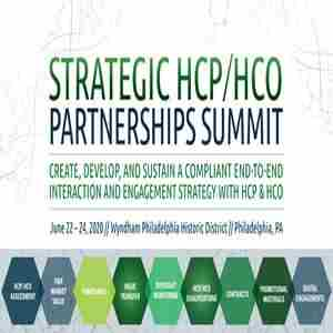 Strategic HCP/HCO Partnerships in Philadelphia on 22 Jun