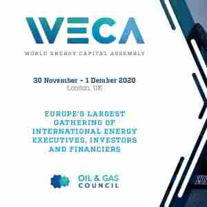 World Energy Capital Assembly in Greater London on 30 Nov