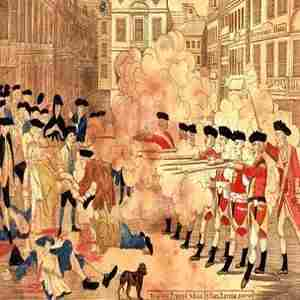 250th Anniversary of the Boston Massacre in Boston on 7 Mar