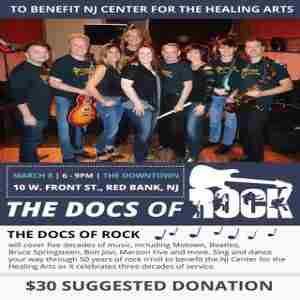 Docs of Rock Benefit Concert for the NJ Center for the Healing Arts in Red Bank on 8 Mar