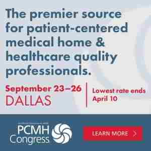 PCMH Congress in Dallas on 23 Sep