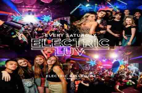 ELECTRIC LUV SATURDAYS in London on 14 Mar