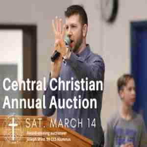 Central Christian Annual Auction in Kidron on 14 Mar