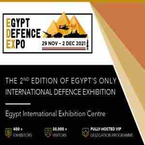 Egypt Defence Expo (EDEX), 7-10 December 2020, Cairo Egypt in Cairo Governorate on 7 Dec