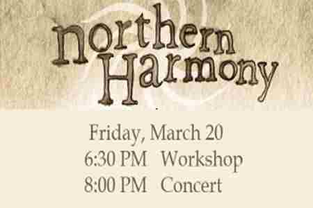 Northern Harmony - World Music Vocal Ensemble in Portland on 20 Mar