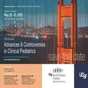 53rd Annual Advances and Controversies in Clinical Pediatrics in San Francisco on 28 May