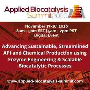 Applied Biocatalysis Summit 2020 in Philadelphia  PA on 23 Jun