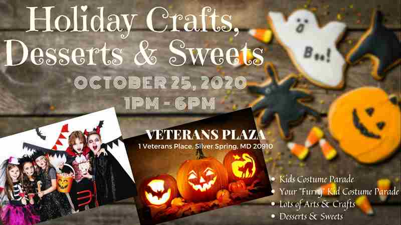 Silver Spring Crafts, Desserts & Sweets Fair in Silver Spring on 25 Oct
