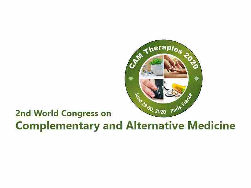 2nd World Congress on Complementary and Alternative Medicine in Paris on 29 Jun
