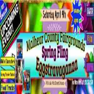 Malheur County Fairgrounds Spring Fling Eggstravaganza in Ontario on 4 Apr