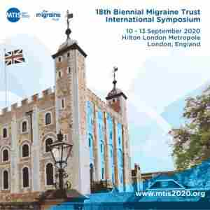 18th Migraine Trust International Symposium / 10-13 September 2020 / London in London on 10 Sep
