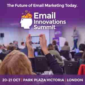 Email Innovations Summit London 2020 in London on 20 Oct