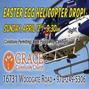 Easter Egg Hunt and Helicopter Drop in Montrose on 12 Apr