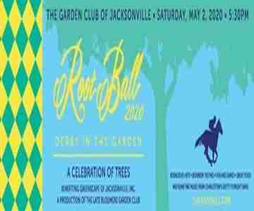 2020 Root Ball: Derby in the Garden in Jacksonville on 2 May