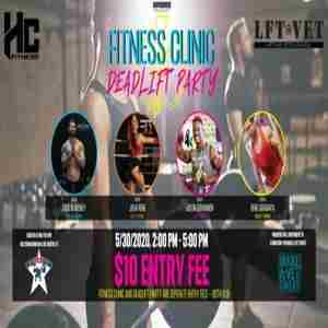 Fitness Clinic and Deadlift Party for Make a Vet Sweat Charity in Austin on 30 May