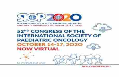 SIOP 2020 Virtual Congress: International Society of Paedatric Oncology in Kansas on 14 Oct
