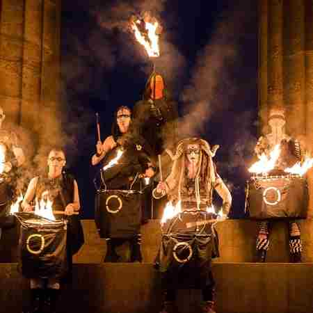 Beltane Fire Festival in Edinburgh on 30 Apr