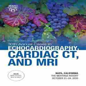 Cases in Echo, Cardiac CT and MRI in Napa on 21 Oct
