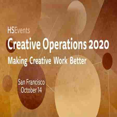Creative Operations San Francisco 2020 in San Francisco on 14 Oct