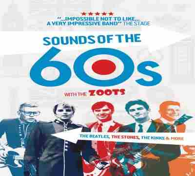 The Zoots Sounds of the 60s and 70s show, Seaton Gateway, Devon Sat 27 March in Seaton on 27 Mar