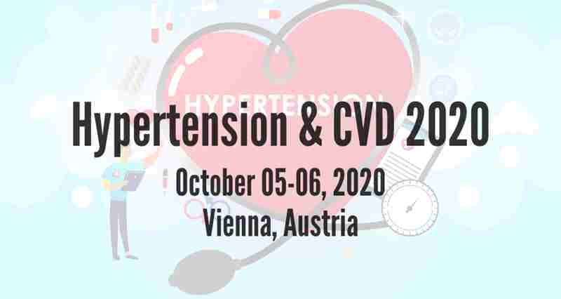 Hypertension & CVD 2020 in Vienna on 5 Oct