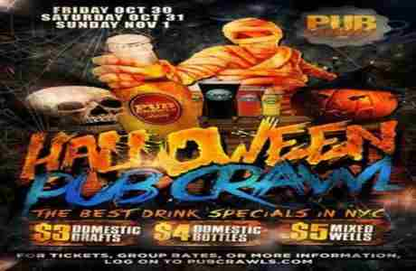 Official HalloWeekend Pub Crawl in New York City (3 Day) - October 2020 in New York on 31 Oct