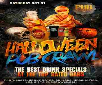 Fright Night HalloWeekend Pub Crawl Philadelphia - October 31, 2020 in Philadelphia on 31 Oct
