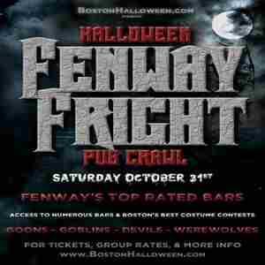 Saturday October 2020 Boston Halloween Boston Fenway Fright Night Halloween Bar Crawl   October 31, 2020