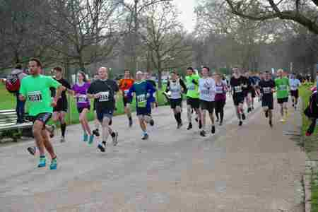 Hyde Park October 10km in England on 18 Oct