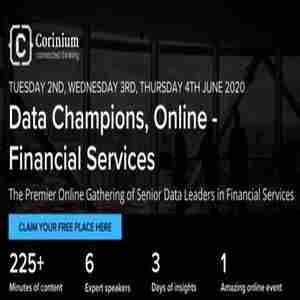 Data Champions, Online - Financial Services in New York on 2 Jun