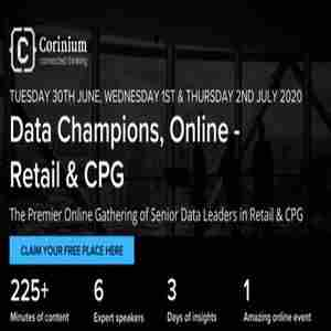 Data Champions, Online - Retail and CPG in KS on 30 Jun