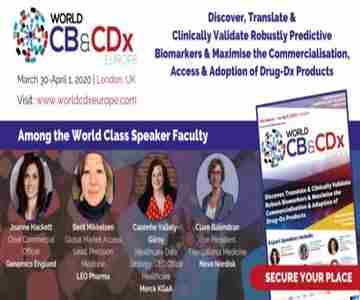 Clinical Biomarkers and World CDx Europe Summit in Greater London on 10 Jan