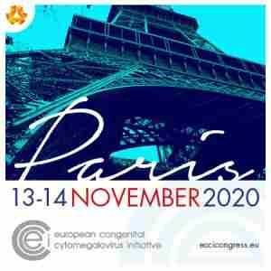 ECCI 2020 Meeting - European Congenital Cytomegalovirus Initiative in Paris on 13 Nov
