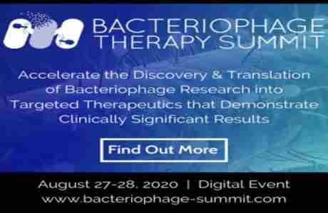 2nd Bacteriophage Therapy Summit 2020 - Boston, MA in Boston on 27 Aug